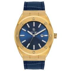 Paul Rich Signature Royal touch Leer PR68GBL horloge