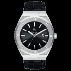 Paul Rich Signature Carbon Leer PR68SBL horloge