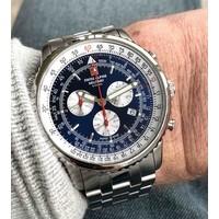 Swiss Alpine Military Swiss Alpine Military 7078.9135 chronograaf heren horloge 45 mm
