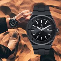 Paul Rich Paul Rich Signature Conquest Staal PR68ABS horloge 45 mm
