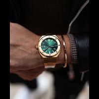 Paul Rich Paul Rich Signature King's jade Staal PR68GGS horloge 45 mm