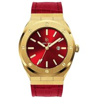 Paul Rich Paul Rich Signature Sultan's Ruby Leer PR68GRL horloge 45 mm