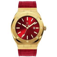 Paul Rich Signature Sultan's Ruby Leer PR68GRL horloge