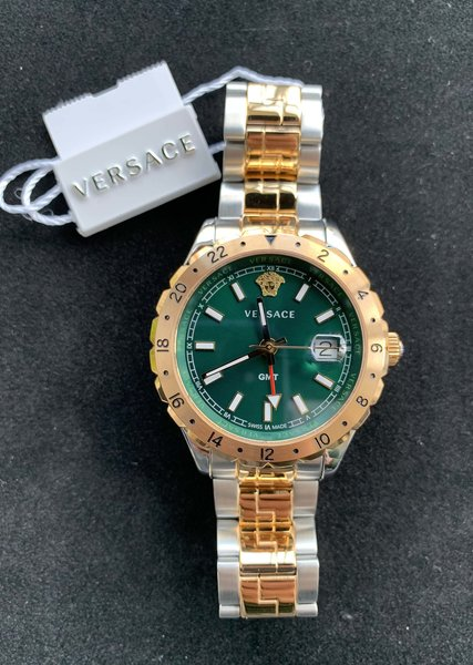 Versace Versace V11050016 Hellenyium heren horloge 42 mm