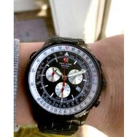 Swiss Alpine Military Swiss Alpine Military 7078.9177 chronograaf heren horloge 45 mm