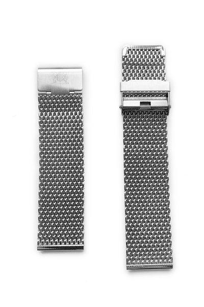 Tauchmeister Tauchmeister Milan-22 Milanese stalen horlogeband 22mm