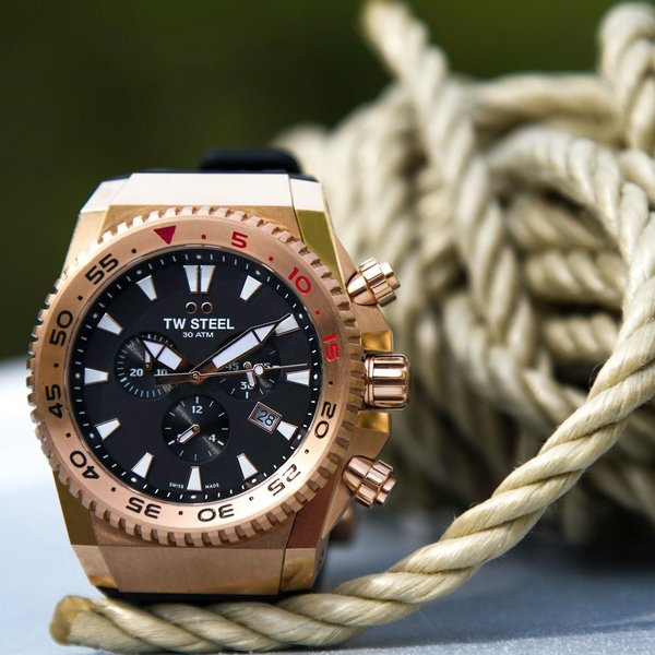 TW Steel TW Steel ACE403 Diver Swiss Chronograaf Limited Edition horloge 44mm