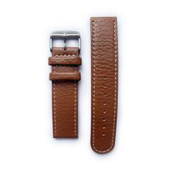 Tauchmeister 22mm bruin lederen horlogeband S22-brown