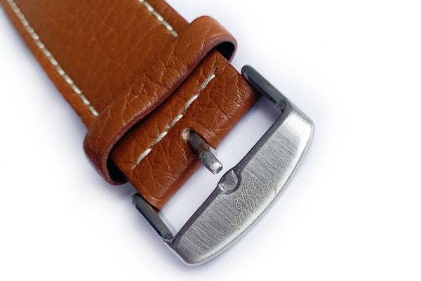 Tauchmeister Tauchmeister 22mm bruin lederen horlogeband S22-brown