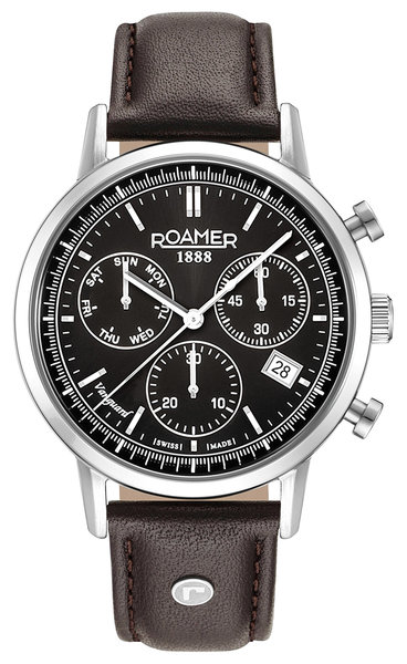 Roamer Roamer 975819 41 55 09 Vanguard Chrono II horloge 42 mm