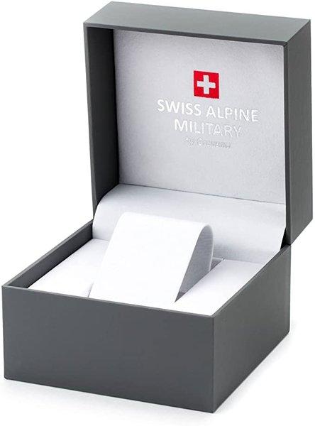 Swiss Alpine Military Swiss Alpine Military 7078.9175 chronograaf heren horloge 45 mm