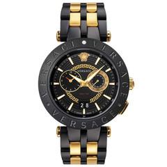 Versace VEBV00619 V-Race heren horloge chronograaf 46 mm