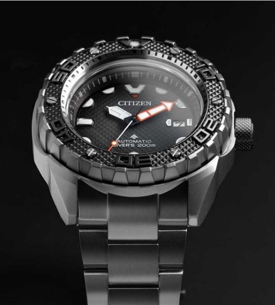 Citizen Citizen NB6004-83E Promaster Marine automatisch horloge 46 mm