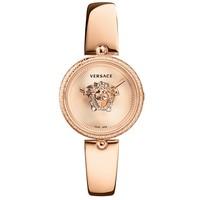 Versace Versace VECQ00718 Palazzo dames horloge rosé goud 34 mm