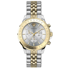 Versace VEV600519 Chrono Signature heren horloge chronograaf 44 mm