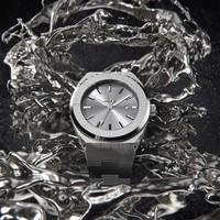 Paul Rich Paul Rich Signature Apollo's Silver Staal PR68ASS horloge 45 mm