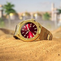 Paul Rich Paul Rich Signature Sultan's Ruby Staal PR68GRS horloge 45 mm