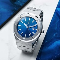 Paul Rich Paul Rich Signature Deep Dive Staal PR68SBS horloge 45 mm
