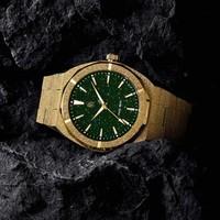 Paul Rich Paul Rich Frosted Star Dust Green Gold FSD03 horloge 45 mm
