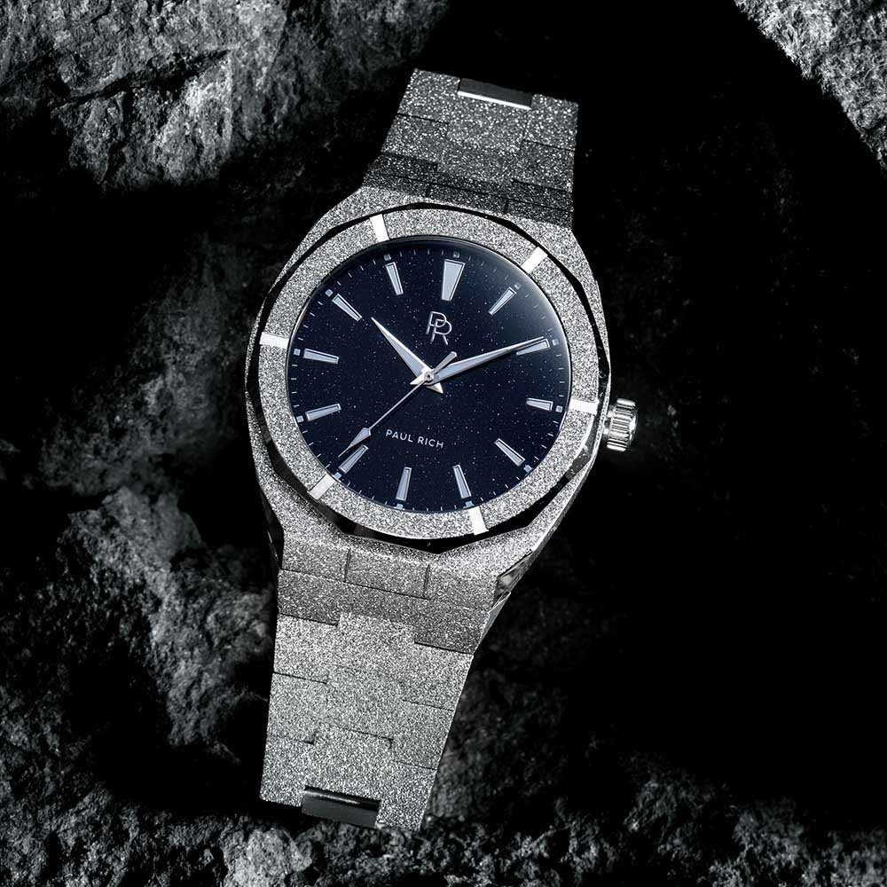 Paul Rich Frosted Star Dust Silver FSD05 horloge 45 mm