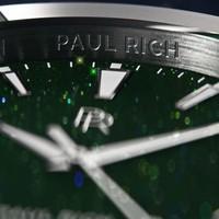 Paul Rich Paul Rich Star Dust Green Silver SD06 horloge 45 mm