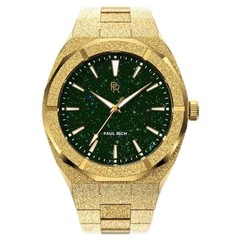 Paul Rich Frosted Star Dust Green Gold FSD03 horloge
