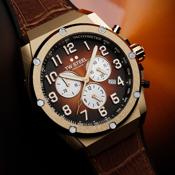 TW Steel TW Steel ACE132 Genesis Limited Edition heren horloge 44 mm