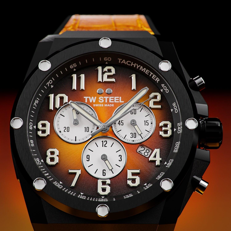 TW Steel ACE133 Genesis Limited Edition heren horloge 44 mm