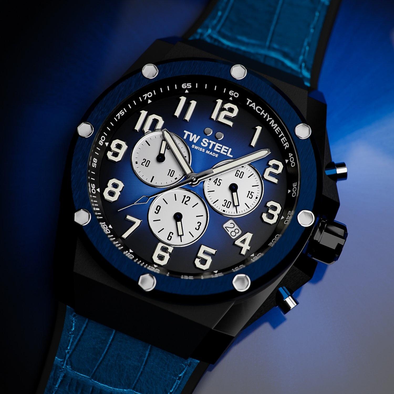 TW Steel ACE134 Genesis Limited Edition heren horloge 44 mm