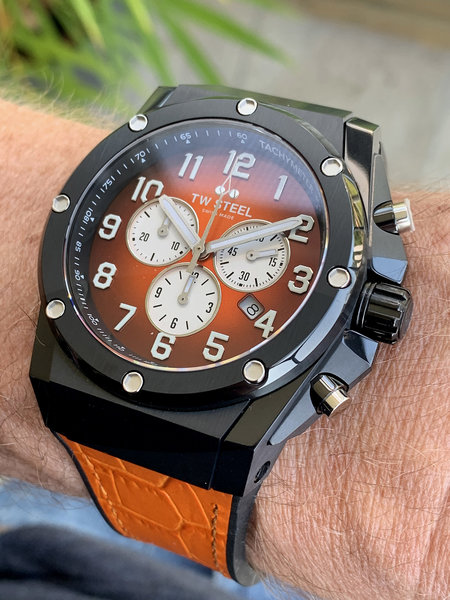 TW Steel TW Steel ACE133 Genesis Limited Edition heren horloge 44 mm
