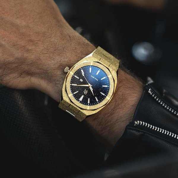 Paul Rich Paul Rich Frosted Star Dust Gold FSD02-A Automatic horloge 45 mm