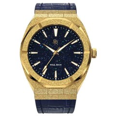 Paul Rich Frosted Star Dust Gold FSD02-L Leather horloge 45 mm