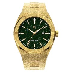 Paul Rich Frosted Star Dust Green Gold Automatic FSD03-A42 horloge 42 mm