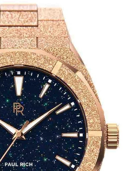 Paul Rich Paul Rich Frosted Star Dust Rose Gold FSD04-42 horloge 42 mm