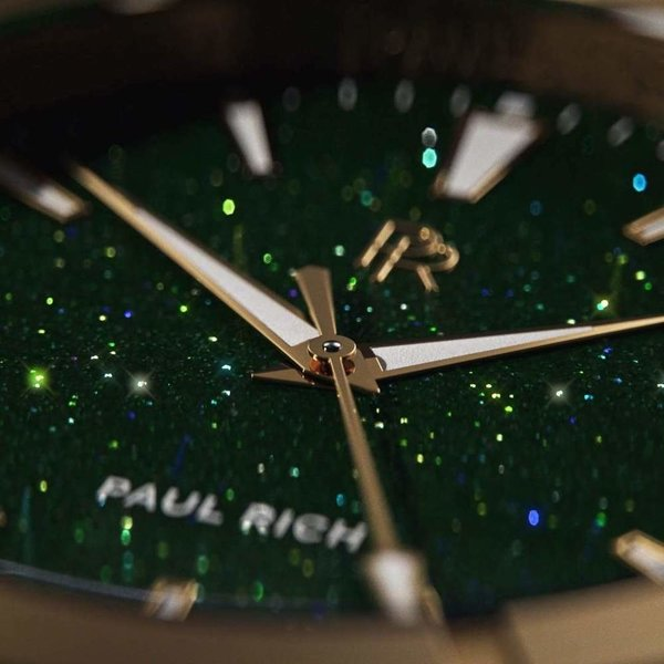 Paul Rich Paul Rich Star Dust Green Gold SD03-42 horloge 42 mm