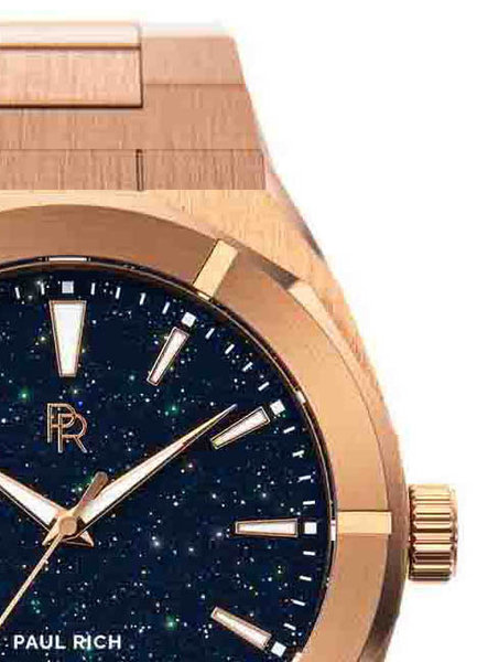 Paul Rich Paul Rich Star Dust Rose Gold SD04-42 horloge 42 mm