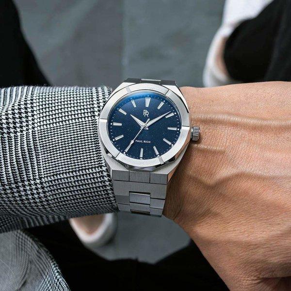 Paul Rich Paul Rich Star Dust Silver SD05-42 horloge 42 mm