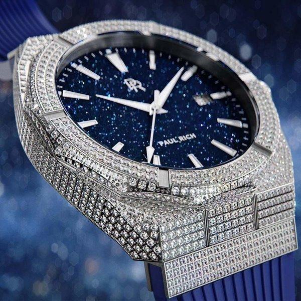 Paul Rich Paul Rich Iced Star Dust Automatic ISD01-A42 horloge 42 mm