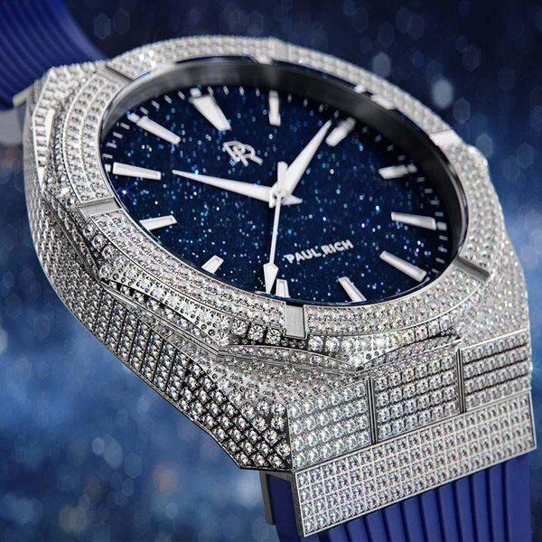 Paul Rich Paul Rich Iced Star Dust ISD01-42 horloge 42 mm