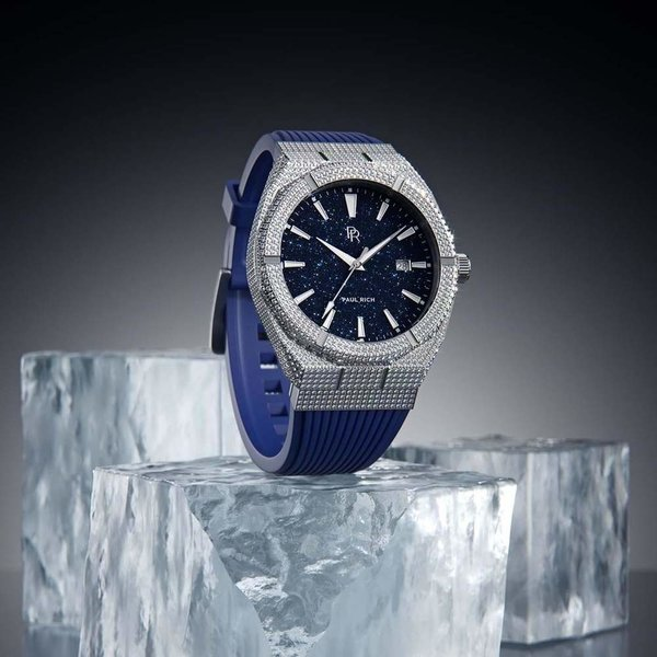 Paul Rich Paul Rich Iced Star Dust Automatic ISD01-A horloge 45 mm