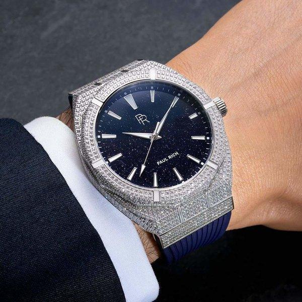 Paul Rich Paul Rich Iced Star Dust ISD01 horloge 45 mm