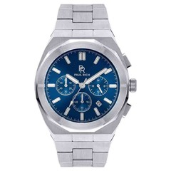 Paul Rich Motorsport Silver Blue Steel MSP05 horloge 45 mm