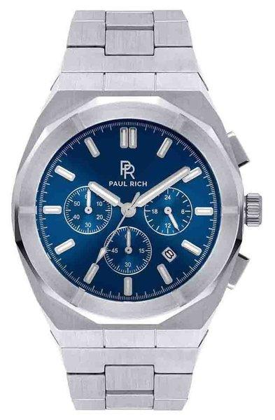 Paul Rich Paul Rich Motorsport Silver Blue Steel MSP05 horloge 45 mm