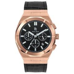 Paul Rich Motorsport Rose Gold Leather MSP04-L horloge 45 mm