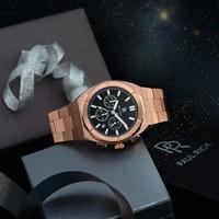 Paul Rich Paul Rich Motorsport Chrono Rose Gold Black Steel MSP04 horloge 45 mm