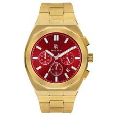 Paul Rich Motorsport Gold Red Steel MSP03 horloge 45 mm