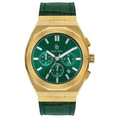 Paul Rich Motorsport Green Gold Leather MSP02-L horloge 45 mm