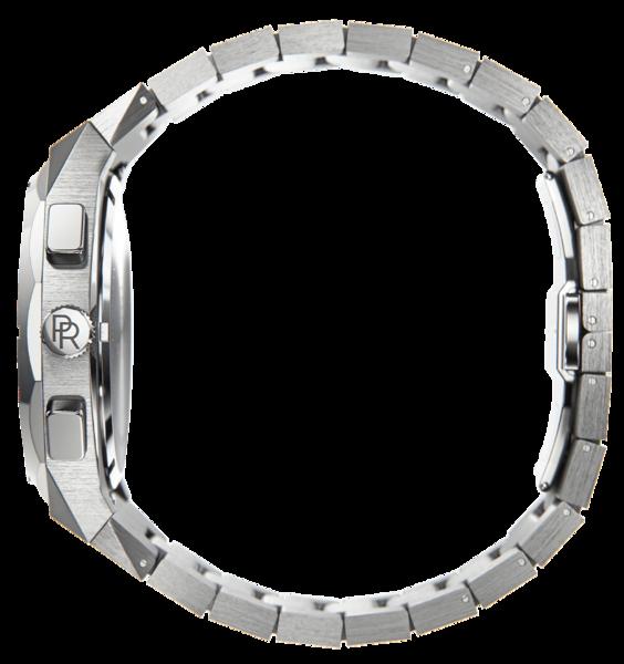 Paul Rich Paul Rich Motorsport Carbon Fiber Silver Blue MCF05 horloge 45 mm