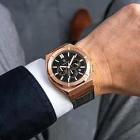 Paul Rich Paul Rich Motorsport Carbon Fiber Rose Gold Leather MCF04-L horloge 45 mm