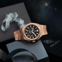 Paul Rich Paul Rich Motorsport Carbon Fiber Rose Gold MCF04 horloge 45 mm